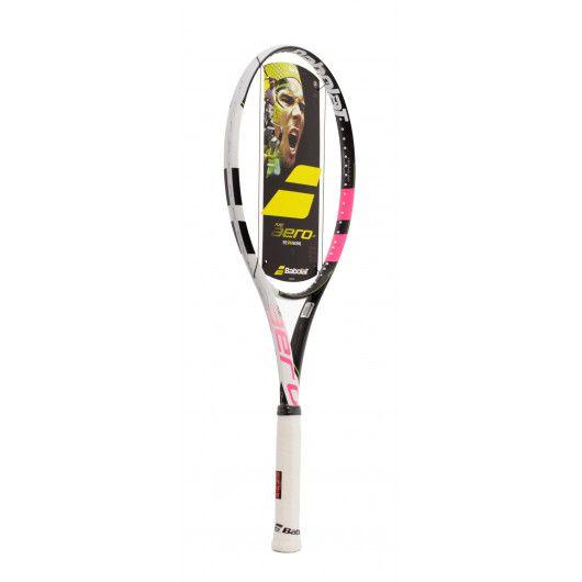 Теннисная ракетка Babolat PURE AERO LITE GENIE PINK UNSTR 101279/178