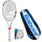 Теннисная ракетка Babolat PURE STRIKE VS UNSTR+ чехол + струны RPM TEAM 101280/149/AC