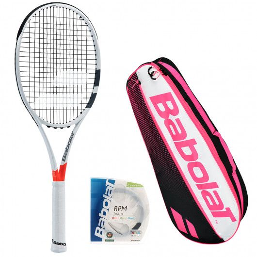 Теннисная ракетка Babolat PURE STRIKE VS+ чехол + струны RPM TEAM 102280/149/AC