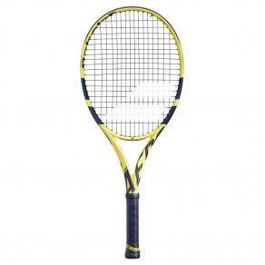 Теннисная ракетка детская профессиональная Babolat PURE AERO JUNIOR 26 140253/191