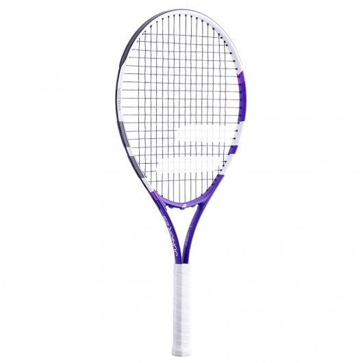 Теннисная ракетка детская 7-10 лет Babolat JUNIOR 25 WIMBLEDON 140409/167