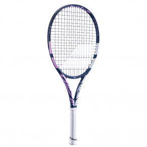 Теннисная ракетка детская профессиональная Babolat PURE DRIVE JUNIOR 26 GIRL 140424/348
