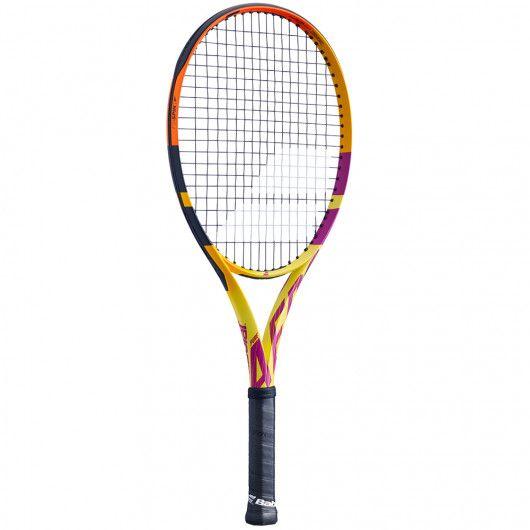 Теннисная ракетка детская профессиональная Babolat PURE AERO JR 26 RAFA FC 140425/352