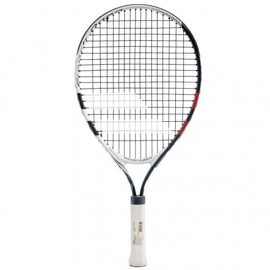 Теннисная ракетка детская 5-7 лет Babolat KIT NADAL JR21 RG/FO + 3 RED BALLS 190003/147