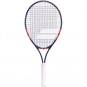 Теннисная ракетка детская 7-10 лет Babolat KIT RG/FO JR25 + 3 ORANGE B...