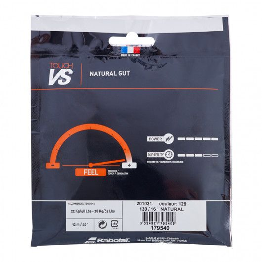 Теннисные струны для ракетки Babolat TOUCH VS 12M (Комплект,12 метров) 201031/128