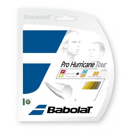 Теннисные струны для ракетки Babolat PRO HURRICANE TOUR 12M (Комплект,12 метров) 241102/113