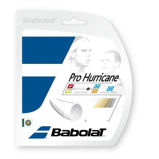Теннисные струны для ракетки Babolat PRO HURRICANE 12M (Комплект,12 метров) 241104/128