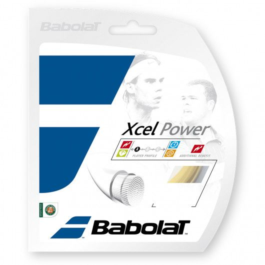 Теннисные струны для ракетки Babolat XCEL POWER 12M (Комплект,12 метров) 241107/128