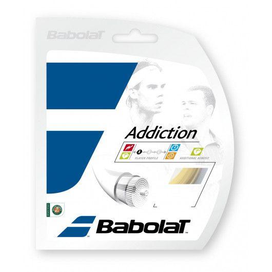 Теннисные струны для ракетки Babolat ADDICTION 12M (Комплект,12 метров) 241115/128