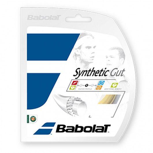 Натяжка ракетки+струна Synthetic Gut