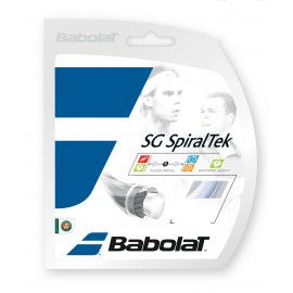 Теннисные струны для ракетки Babolat SG SPIRALTEK 12M (Комплект,12 мет...