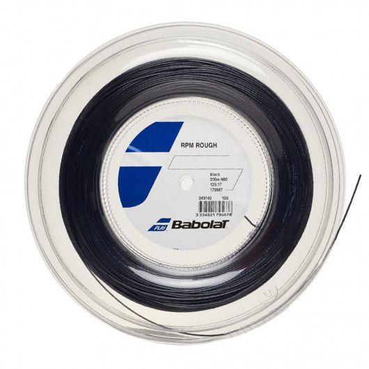 Теннисные струны для ракетки Babolat RPM ROUGH 200M (Бобина,200 метров) 243140/105