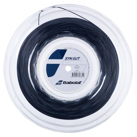 Теннисные струны для ракетки Babolat SYN GUT 200M (Бобина,200 метров) 243144/105