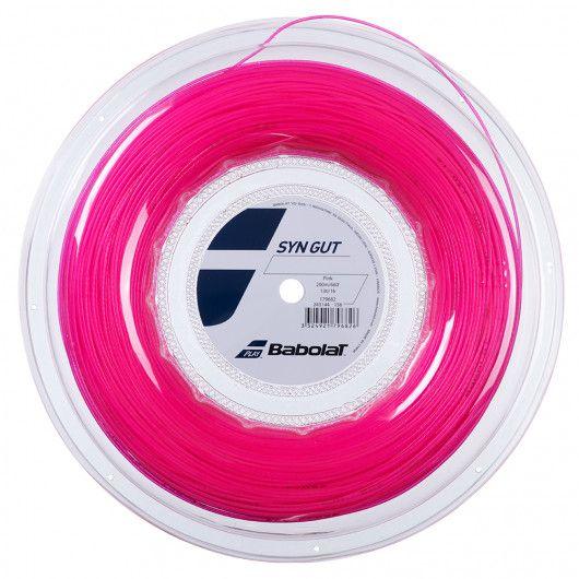 Теннисные струны для ракетки Babolat SYN GUT 200M (Бобина,200 метров) 243144/156