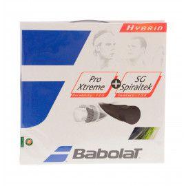 Струны теннисные Babolat HYBRID PX 125 SG S 130 (Комплект,12 метров) 2...