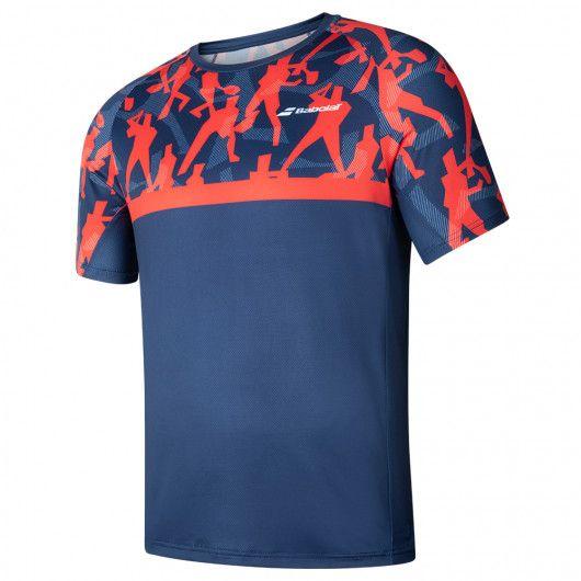 Футболка для тенниса детская Babolat COMPETE CREW NECK TEE BOY 2BF20011/5034