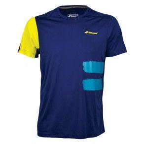Футболка для тенниса детская Babolat PERF CREW NECK TEE BOY 2BS18011/4...
