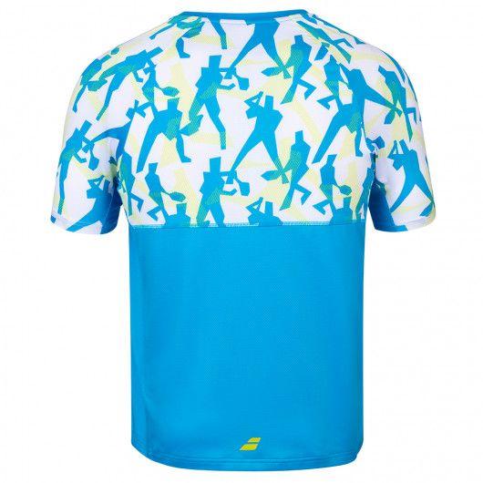 Футболка для тенниса детская Babolat COMPETE CREW NECK TEE BOY 2BS20011/4062
