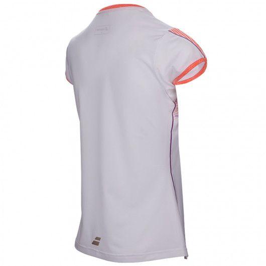 Футболка для тенниса детская Babolat PERF CAP SLEEVE TOP GIRL 2GS17031/101