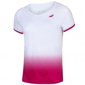 Футболка для тенниса детская Babolat COMPETE CAP SLEEVE TOP GIRL 2GS20031/1028
