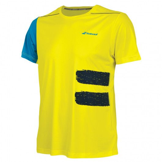 Футболка для тенниса мужская Babolat PERF CREW NECK TEE MEN 2MS18011/7000