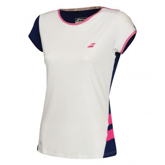 Футболка для тенниса женская Babolat PERF CAP SLEEVE TOP WOMEN 2WS18031/1005