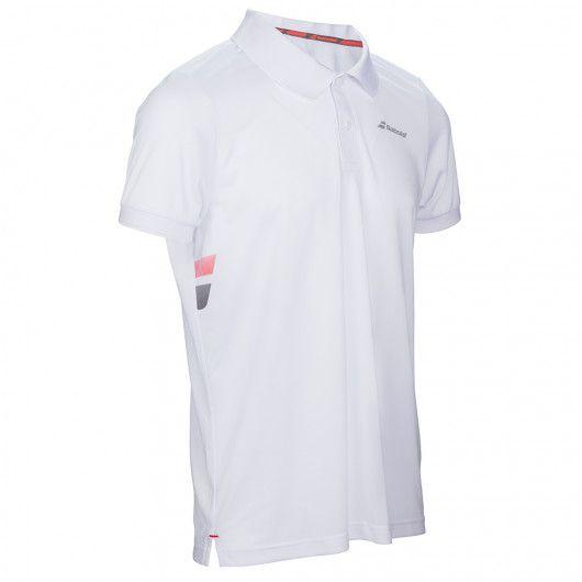 Тенниска для тенниса детская Babolat CORE CLUB POLO BOY 3BS17021/101