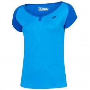 Футболка для тенниса детская Babolat PLAY CAP SLEEVE TOP GIRL 3GP1011/4049O