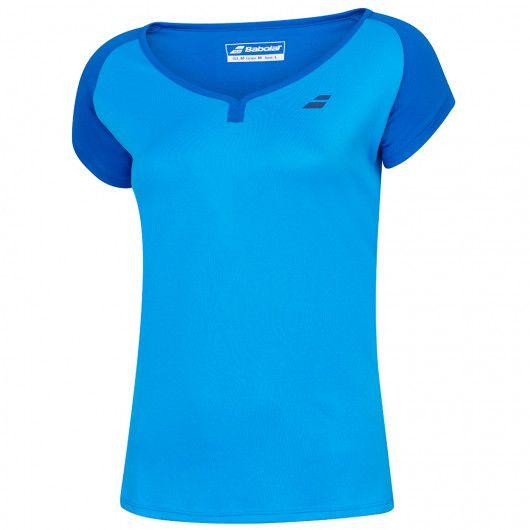 Футболка для тенниса детская Babolat PLAY CAP SLEEVE TOP GIRL 3GP1011/4049