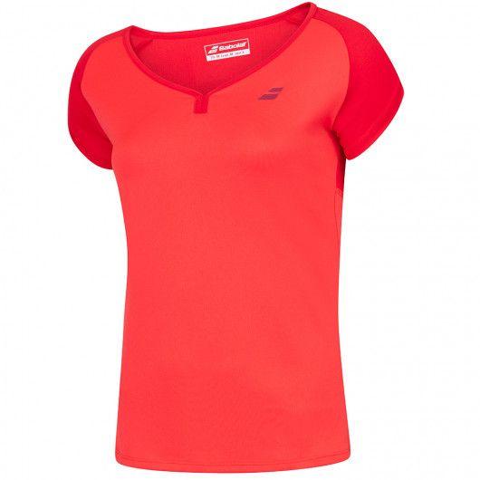 Футболка для тенниса детская Babolat PLAY CAP SLEEVE TOP GIRL 3GP1011/5027