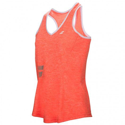 Майка для тенниса детская Babolat CORE CROP TOP GIRL 3GS17071/201