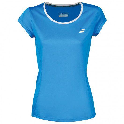 Футболка для тенниса детская Babolat CORE FLAG CLUB TEE GIRL 3GS18011/4013