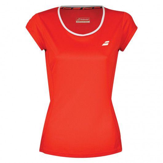 Футболка для тенниса детская Babolat CORE FLAG CLUB TEE GIRL 3GS18011/5005