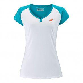 Футболка для тенниса детская Babolat PLAY CAP SLEEVE TOP GIRL 3GTB011/1048