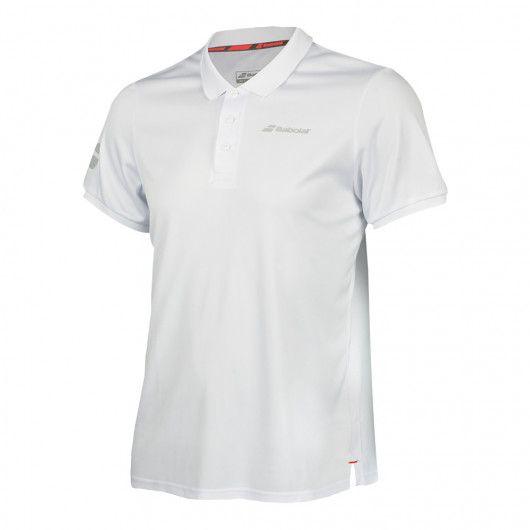 Тенниска для тенниса мужская Babolat CORE CLUB POLO MEN 3MS18021/1000