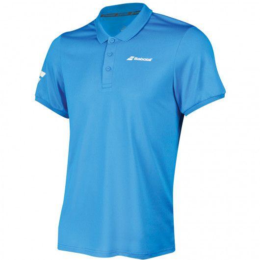 Тенниска для тенниса мужская Babolat CORE CLUB POLO MEN 3MS18021/4013