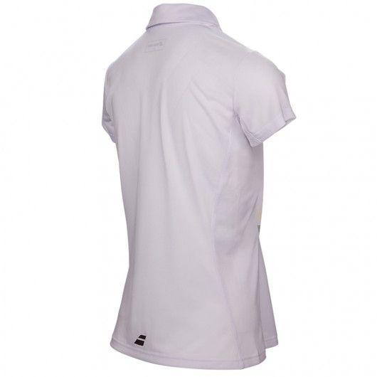 Тенниска для тенниса женская Babolat CORE CLUB POLO WOMEN 3WS17021/101