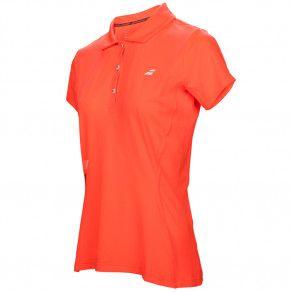 Тенниска для тенниса женская Babolat CORE CLUB POLO WOMEN 3WS17021/201