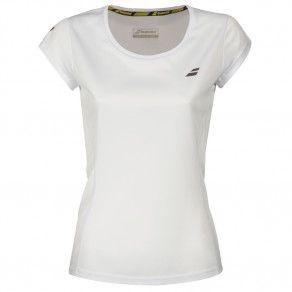 Футболка для тенниса женская Babolat CORE FLAG CLUB TEE WOMEN 3WS18011/1000