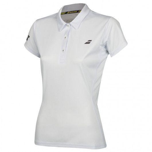 Тенниска для тенниса женская Babolat CORE CLUB POLO WOMEN 3WS18021/1000