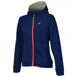 Худи женская Babolat CORE HOOD SWEAT WOMEN 3WS18041/4000