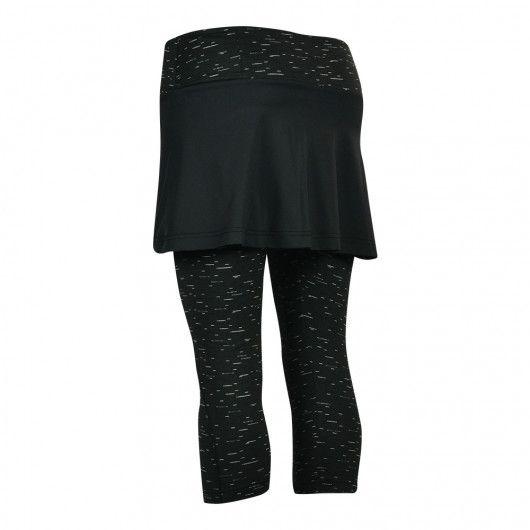 Теннисная юбка леггинсы 3/4 женская Babolat CORE COMBI S+C WOMEN 3WS18152/3004