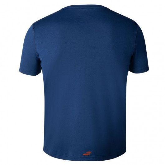 Футболка для тенниса детская Babolat EXERCISE BIG BABOLAT TEE BOY 4BTA017/4000