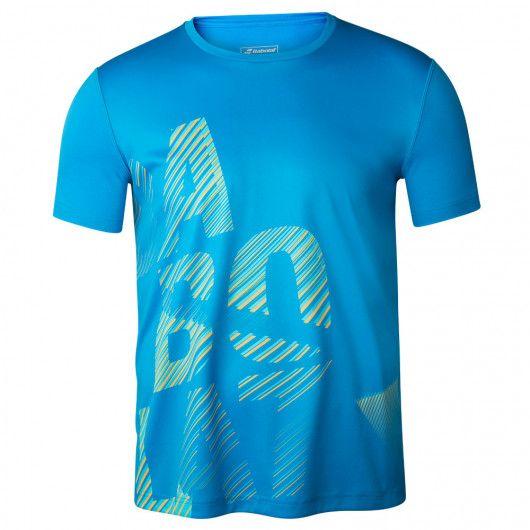 Футболка для тенниса детская Babolat EXERCISE BIG BABOLAT TEE BOY 4BTA017/4049
