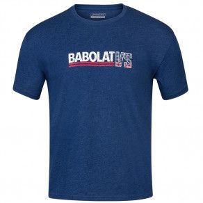 Футболка для тенниса мужская Babolat EXERCISE VINTAGE TEE MEN 4MS20443/4005