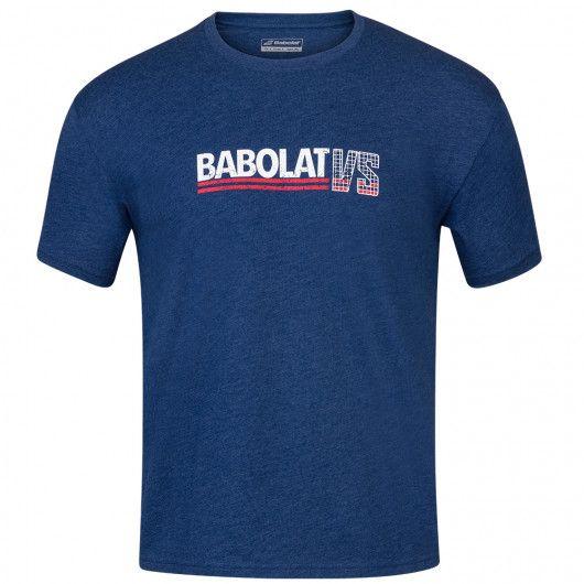 Футболка для тенниса мужская Babolat EXERCISE VINTAGE TEE MEN 4MS20443/4005
