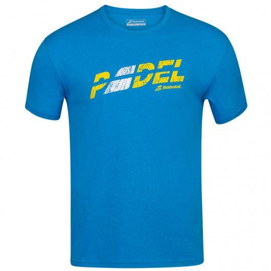 Футболка для тенниса мужская Babolat EXERCISE FLAG MSG TEE MEN 4MS20445/4052