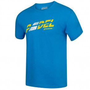 Футболка для тенниса мужская Babolat EXERCISE FLAG MSG TEE MEN 4MS20445/4052