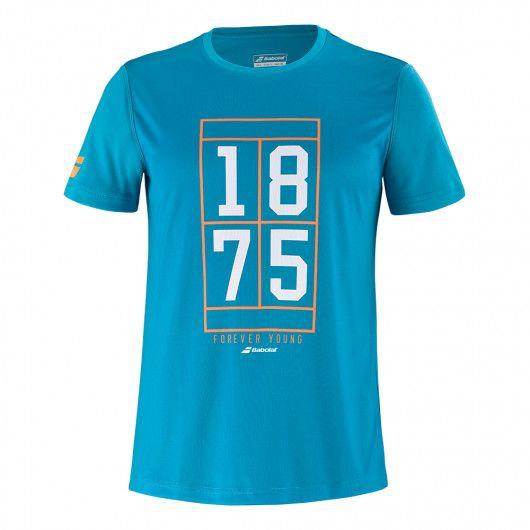 Футболка для тенниса мужская Babolat EXERCISE GRAPHIC TEE MEN 4MTB017/4080